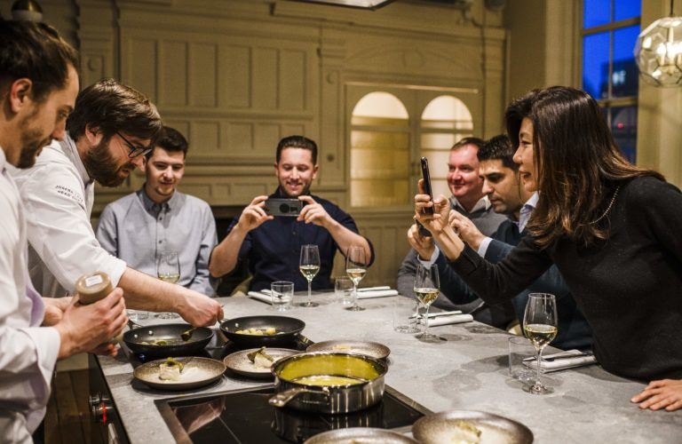 The best chef's tables in London Christmas Gift Experience