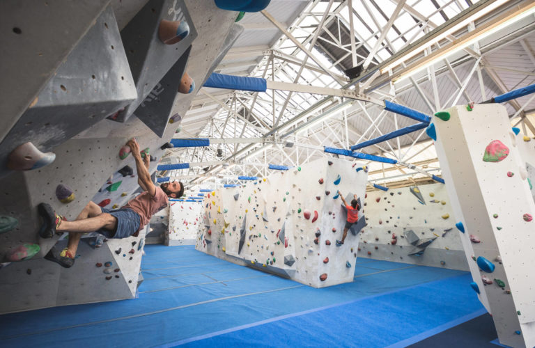 Climbing is a great alternative work social