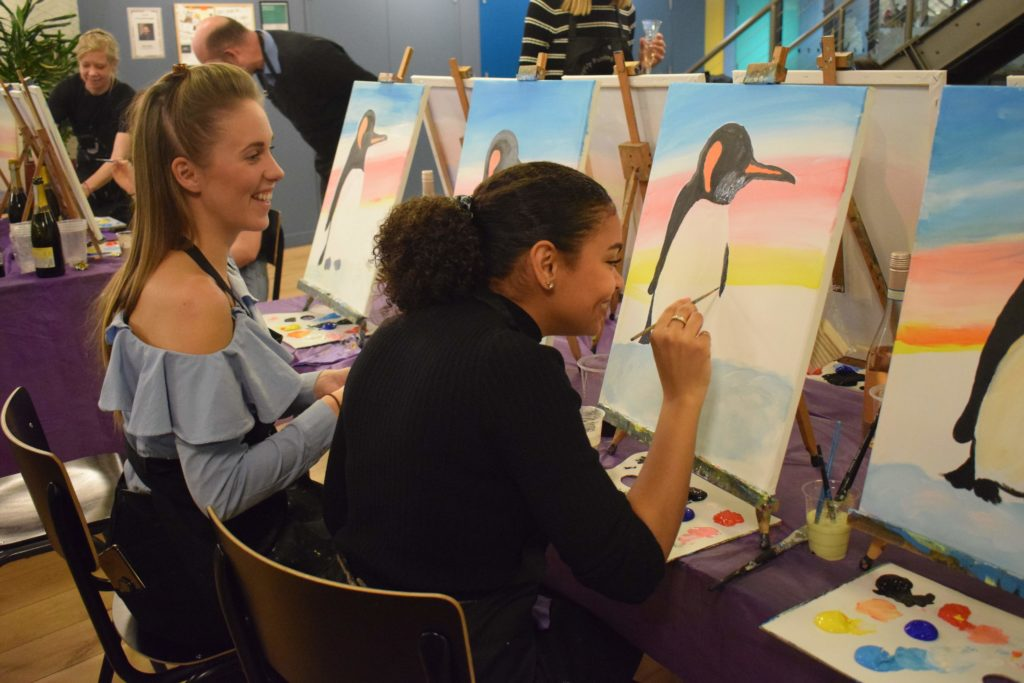 PopUp Painting events