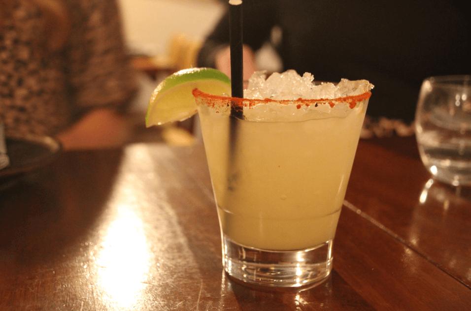 Yuzu cocktails