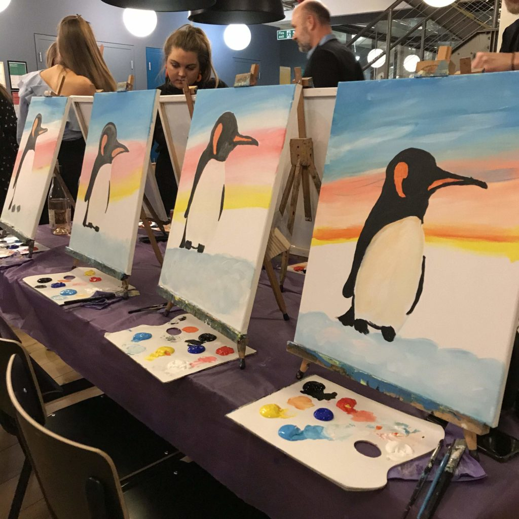 Prosecco and Painting